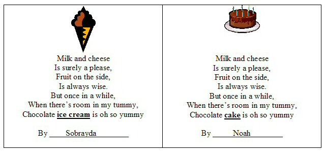 USING CANDY IN A POEM | just b.CAUSE
