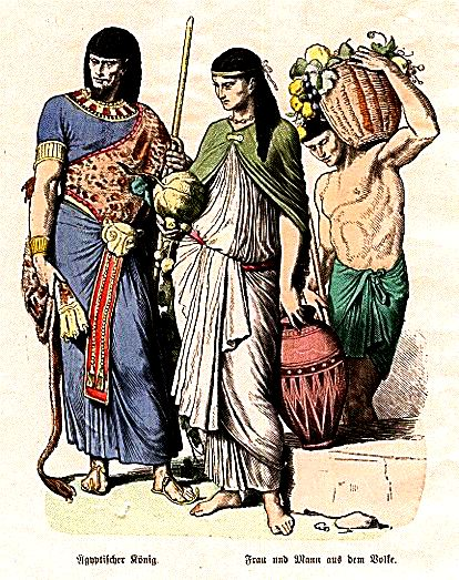 Who is the ancient Egyptian noble? Who are the commoners? What is the ...